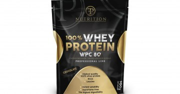 zdjęcie Nutrition for athletes. WHEY PROTEIN 900 g  PF Nutrition . Diet supplement